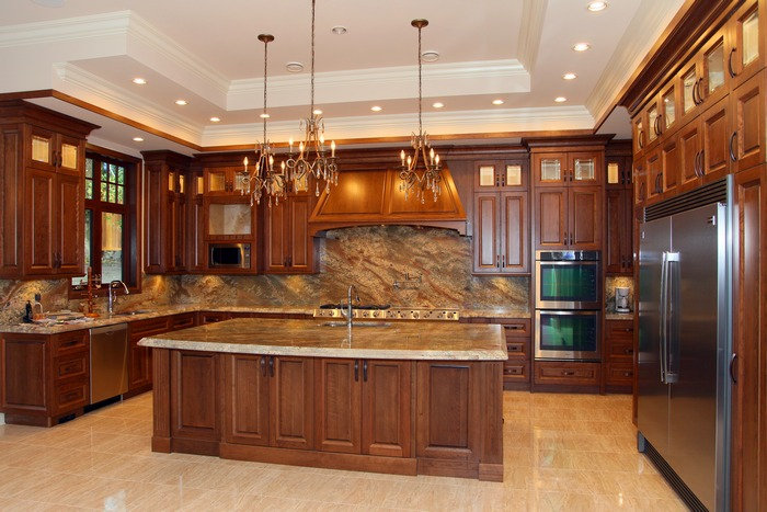 Custom kitchens cabinets design build your dream for Dream home kitchen ideas